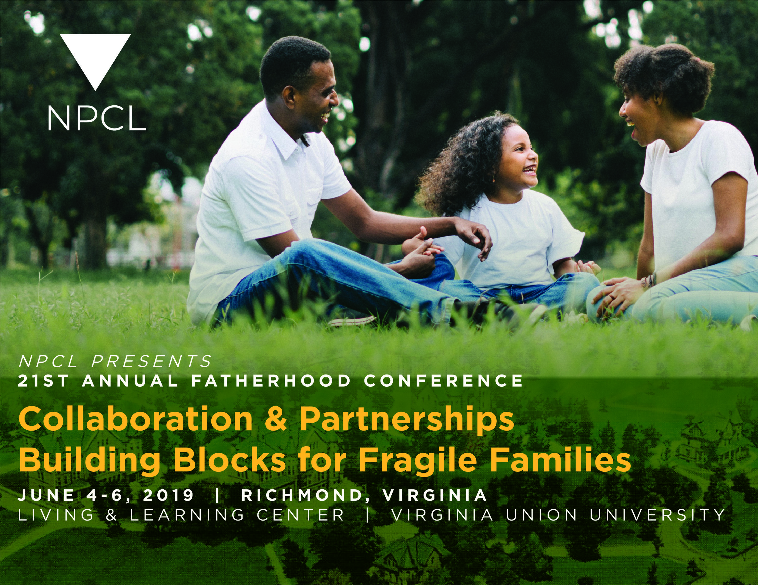 REGISTER ONLINE NOW! - This year's Conference theme is focused on community agencies partnering their resources to give parents the tools (building blocks) they need to raise happy, healthy and successful children. Join us June 4-6 at Virginia Union University to learn more!
