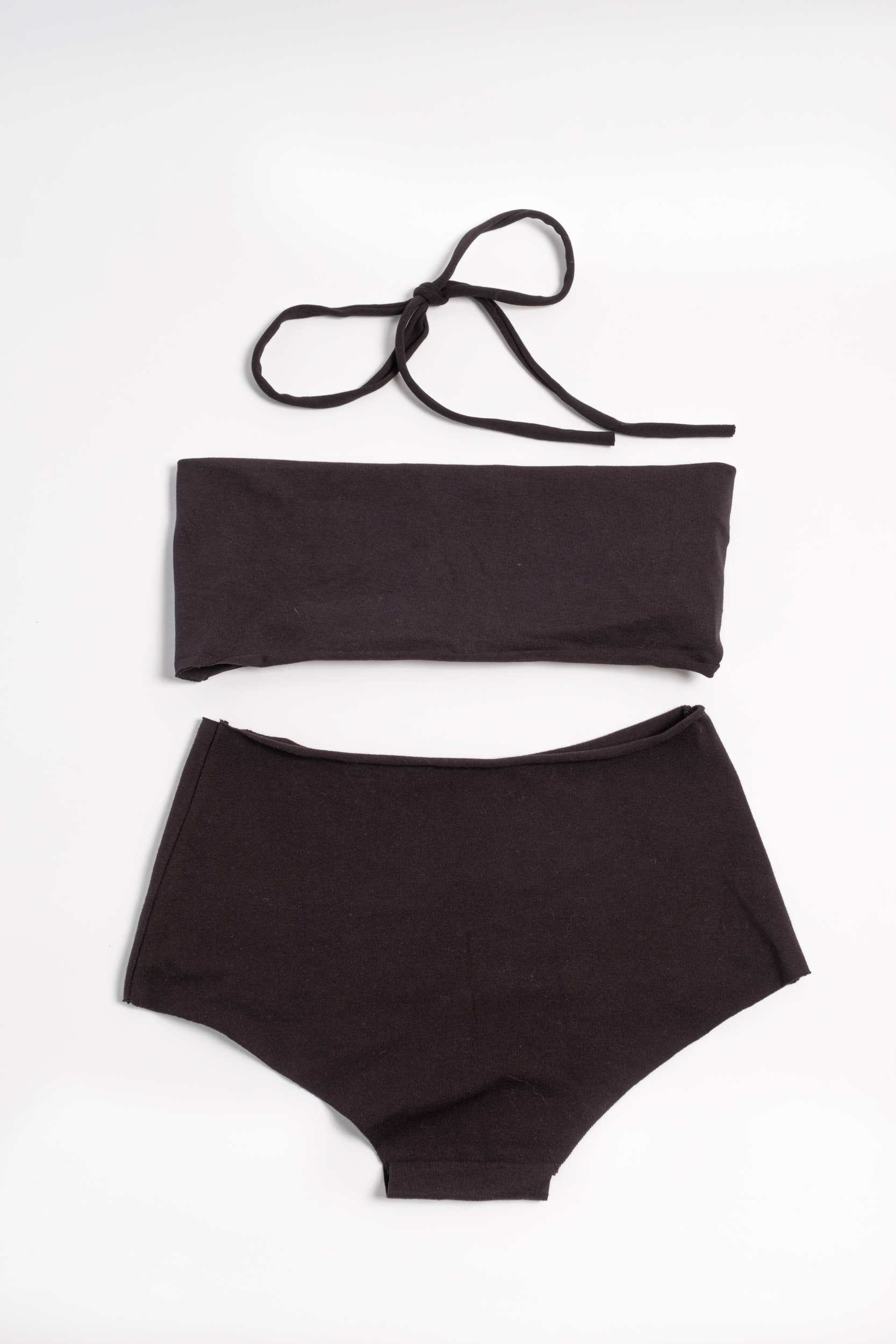 cheap for discount c10ad 018b7 Isole e Vulcani - Pure cotton bikini - Nero — Vico dei Bolognesi