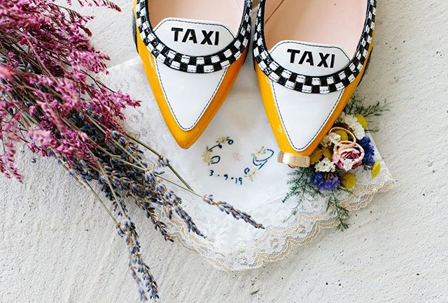 How cool are these shoes?! Beautiful details at this wedding. All the colors were perfect!