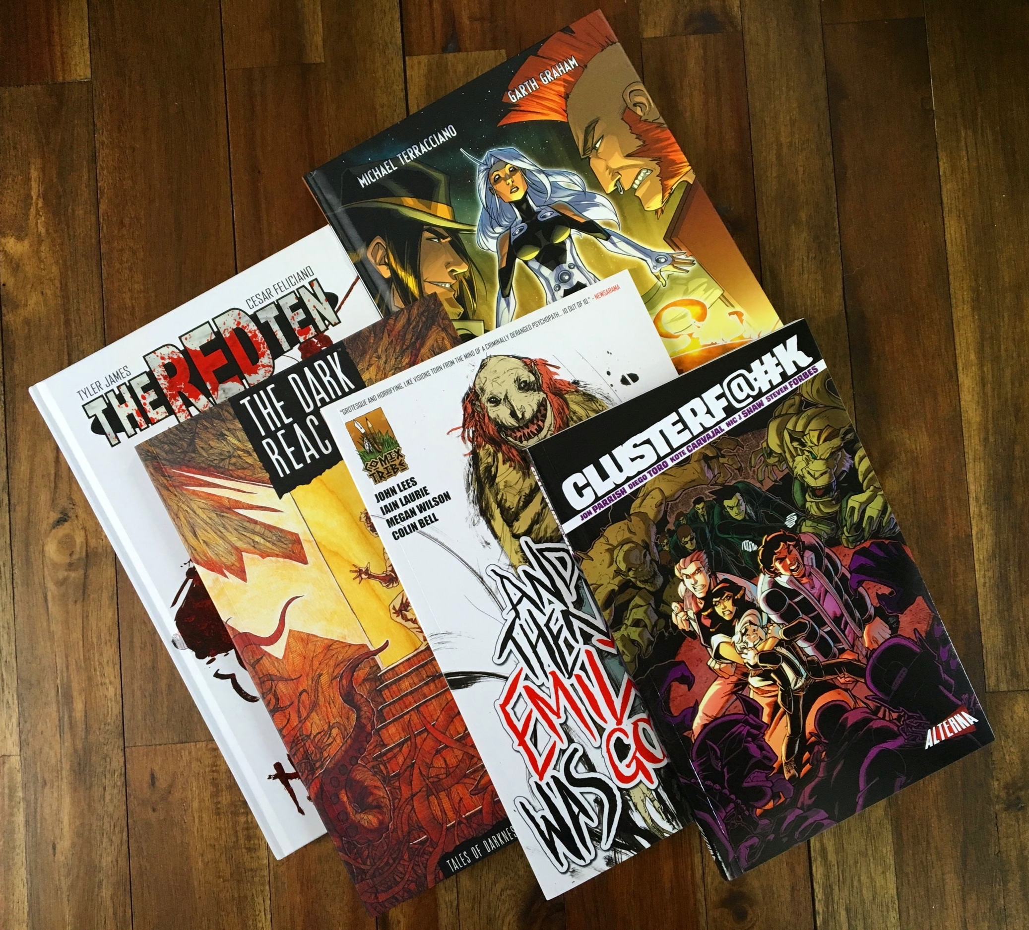 Comic Printing in all Shapes and Sizes