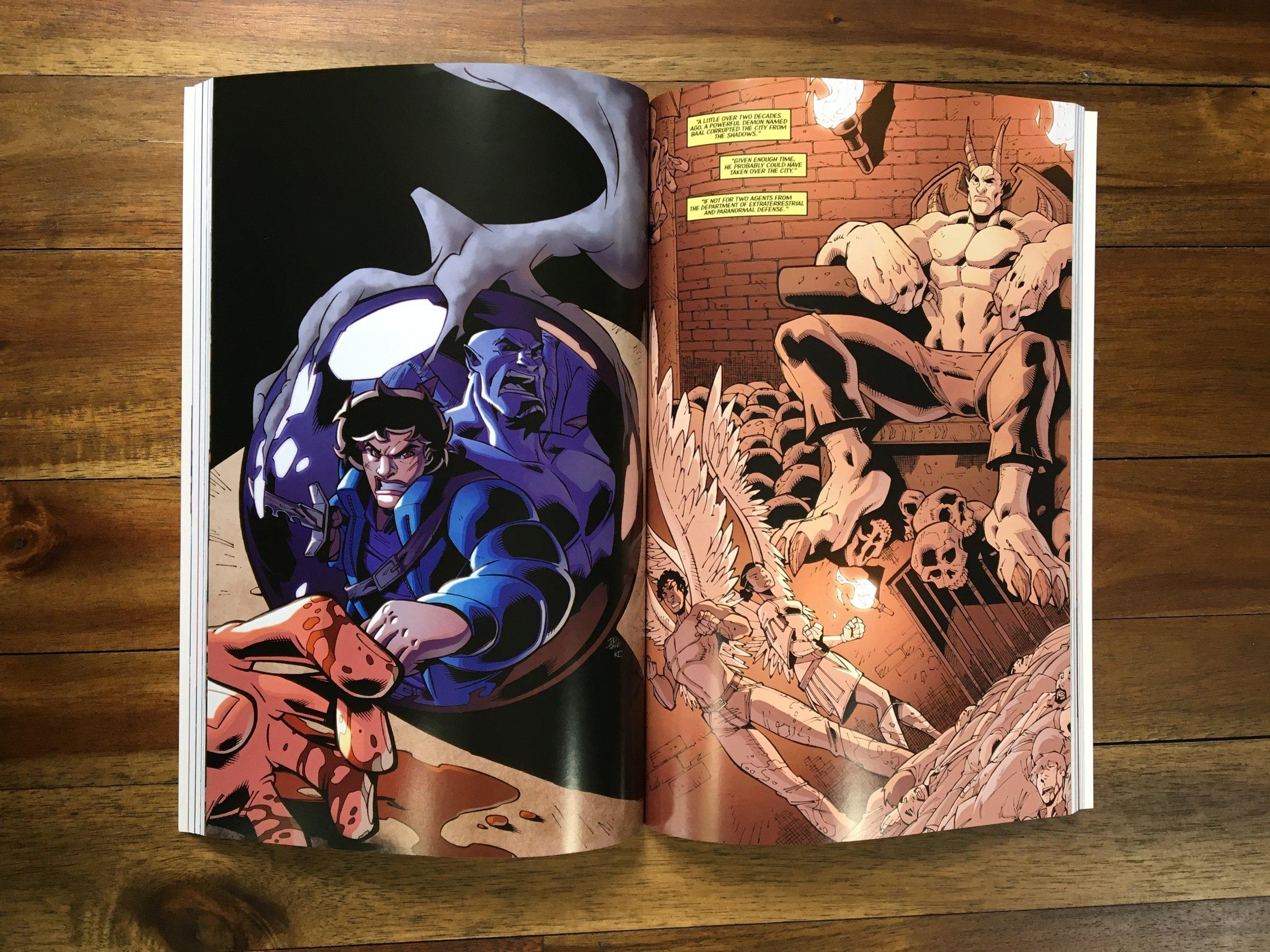 Vibrant Graphic Novel Printing