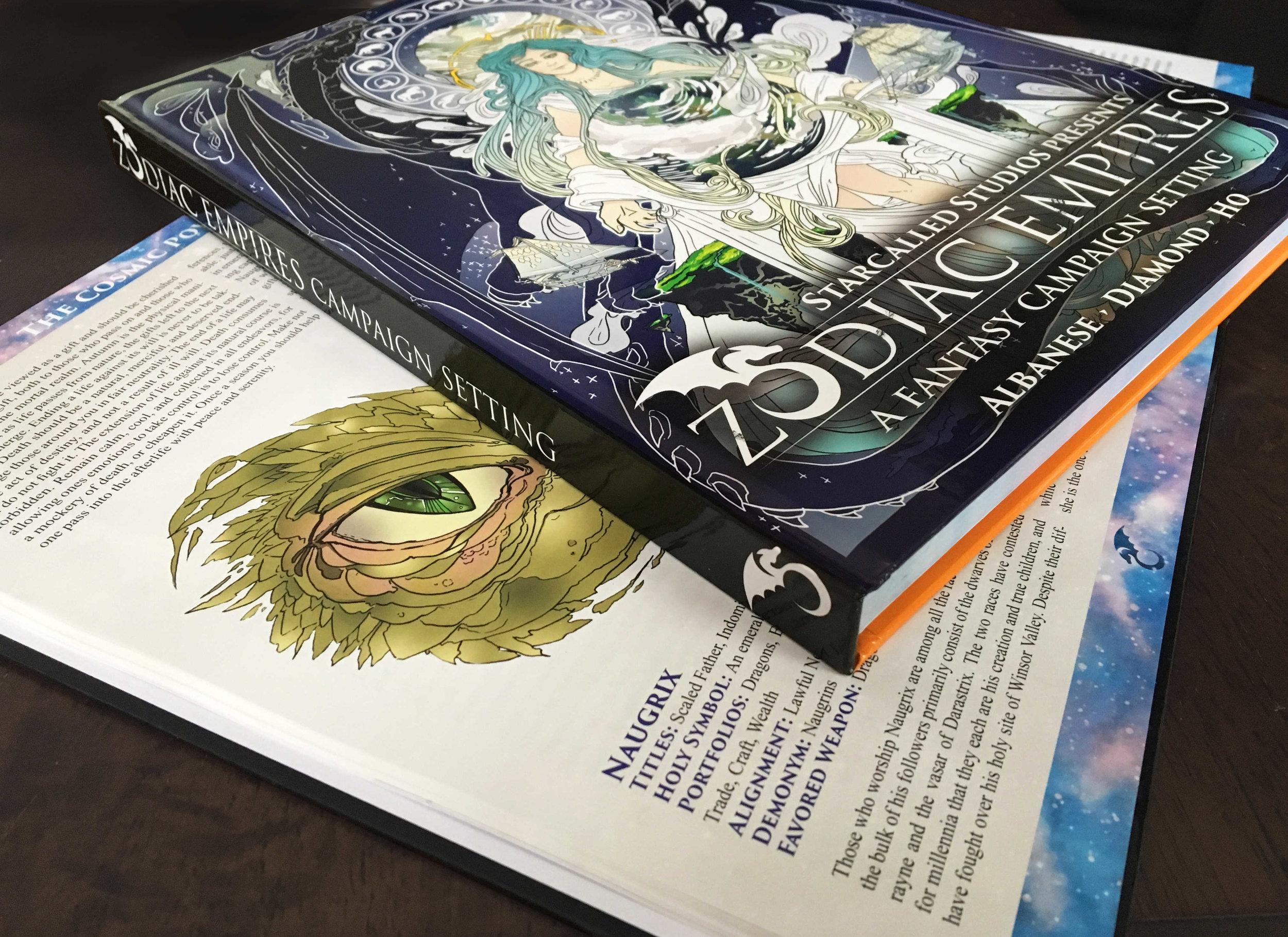 Hardcover RPG printing