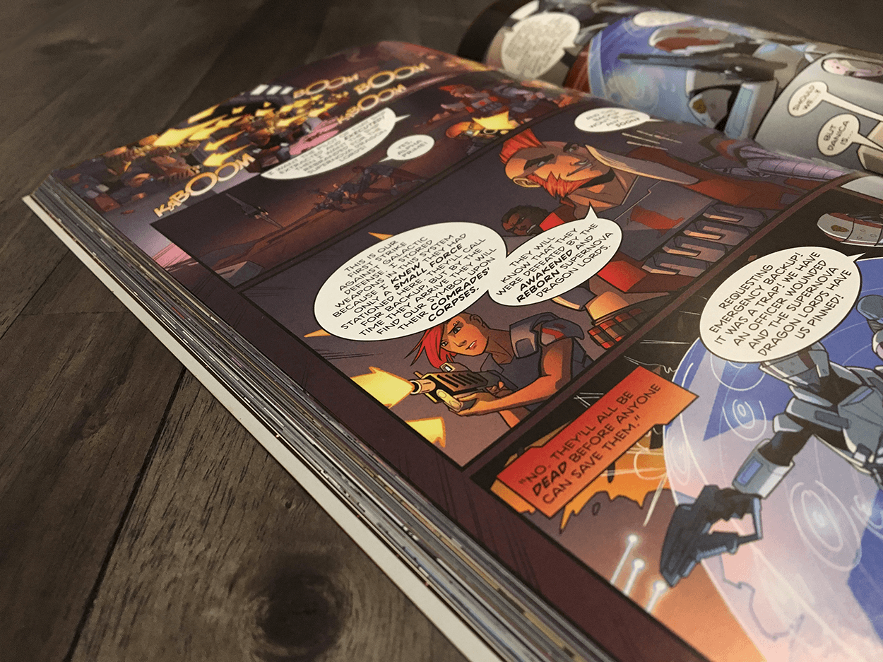 Trade Paperback Printing done right!