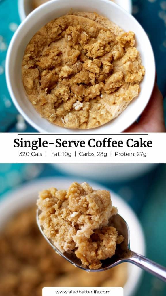 Single-Serve Coffee Cake