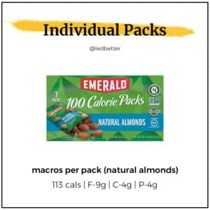 Emerald 100-Calorie Packs - Natural Almonds