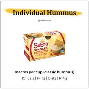 Sabra Singles - Classic Hummus