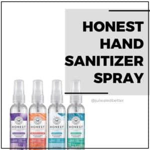 Honest Hand Sanitizer Spray