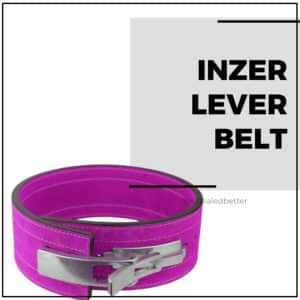 Inzer Lever Belt