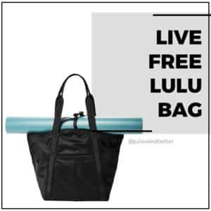 Live Free Lulu Bag