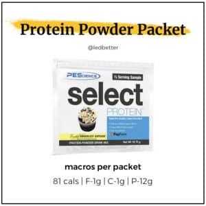 Protein Powder Packet