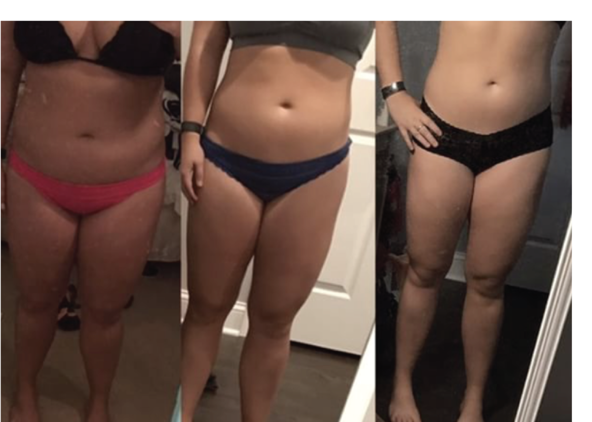 """I've lost 5 inches off my waist in the 8 weeks I've been doing your program! Thank you for finally giving me something I can successfully integrate in my life!"" - – Kim H."