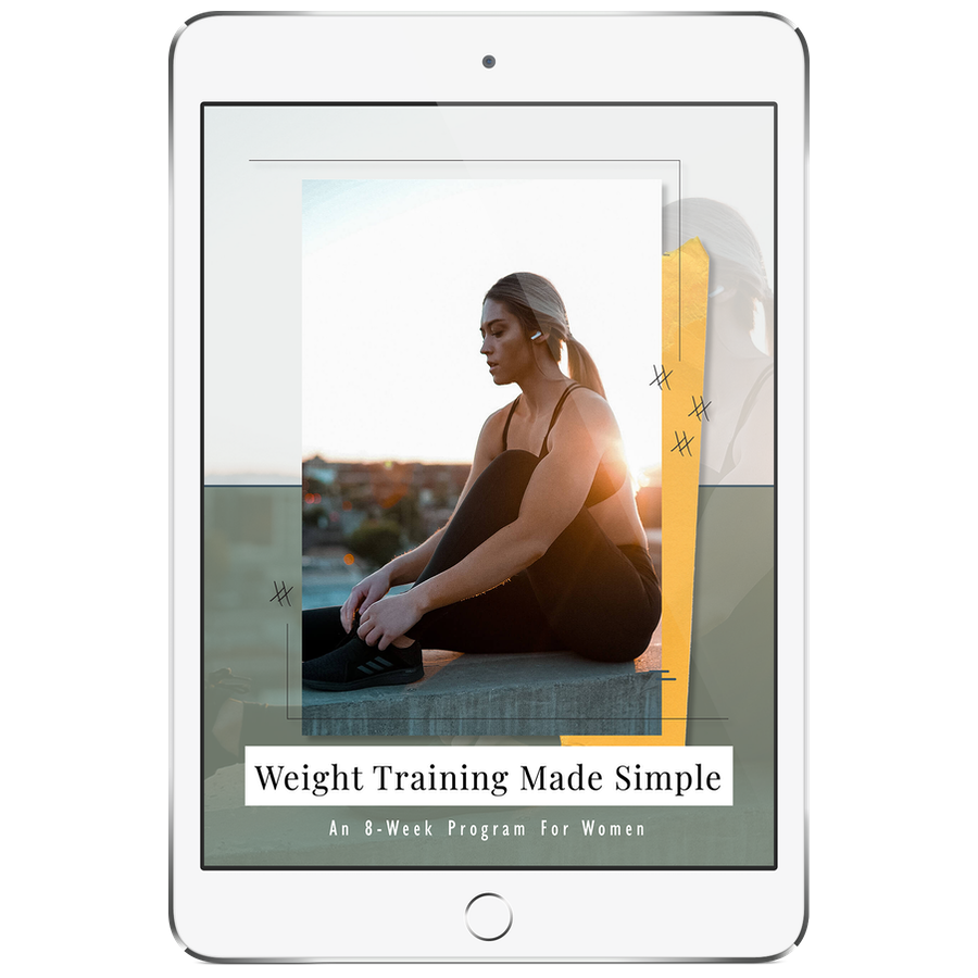Product - Weight Training Made Simple Ebook - Julie Ledbetter.png