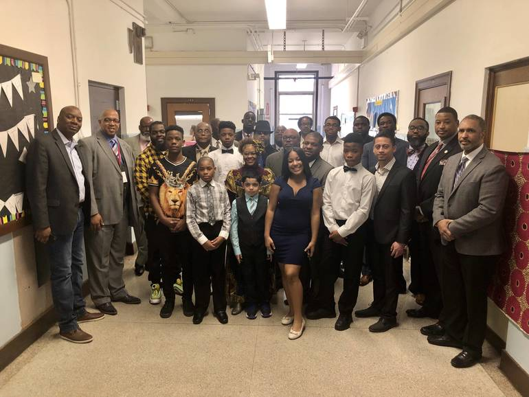 'Strong Black Men' Deliver Important Message as Paterson School 20 Celebrates 'Black Historical Icons'
