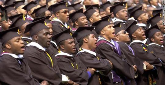 Black men are succeeding in America