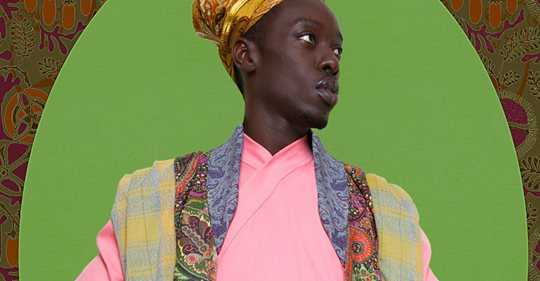 Senegalese Photographer Omar Victor Diop's Regal Portraiture