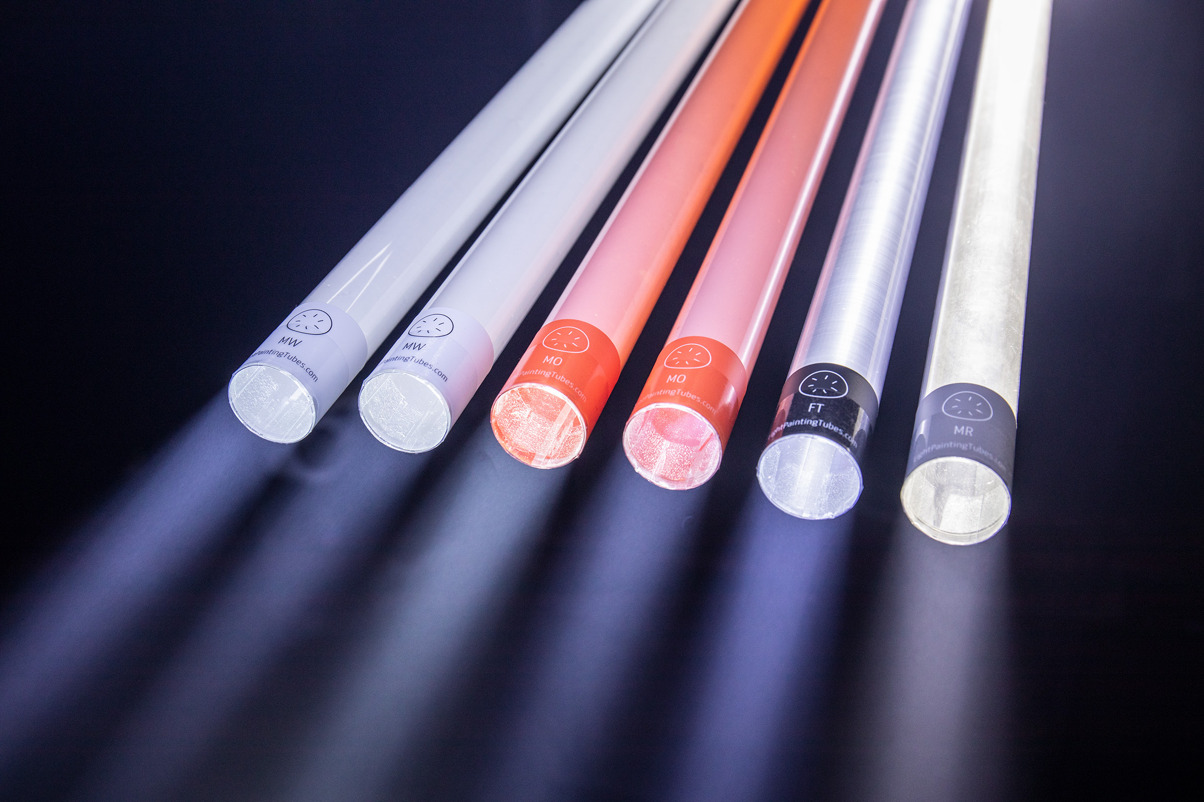 The light-painting tubes are available on  http://getTheTubes.com