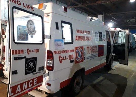 Trauma Rescue Initiative Ambulance Dr. Ramesh Kumar Foundation
