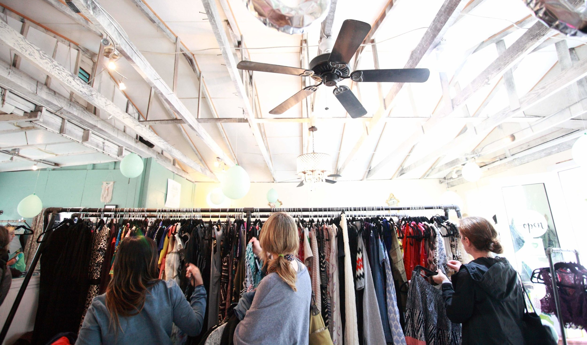 WElcome to Gather Resale! - Discover modern, high quality resale fashion in our clothing studio