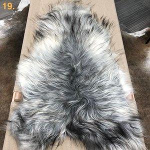 Icelandic Sheepskin Rug - Natural Grey