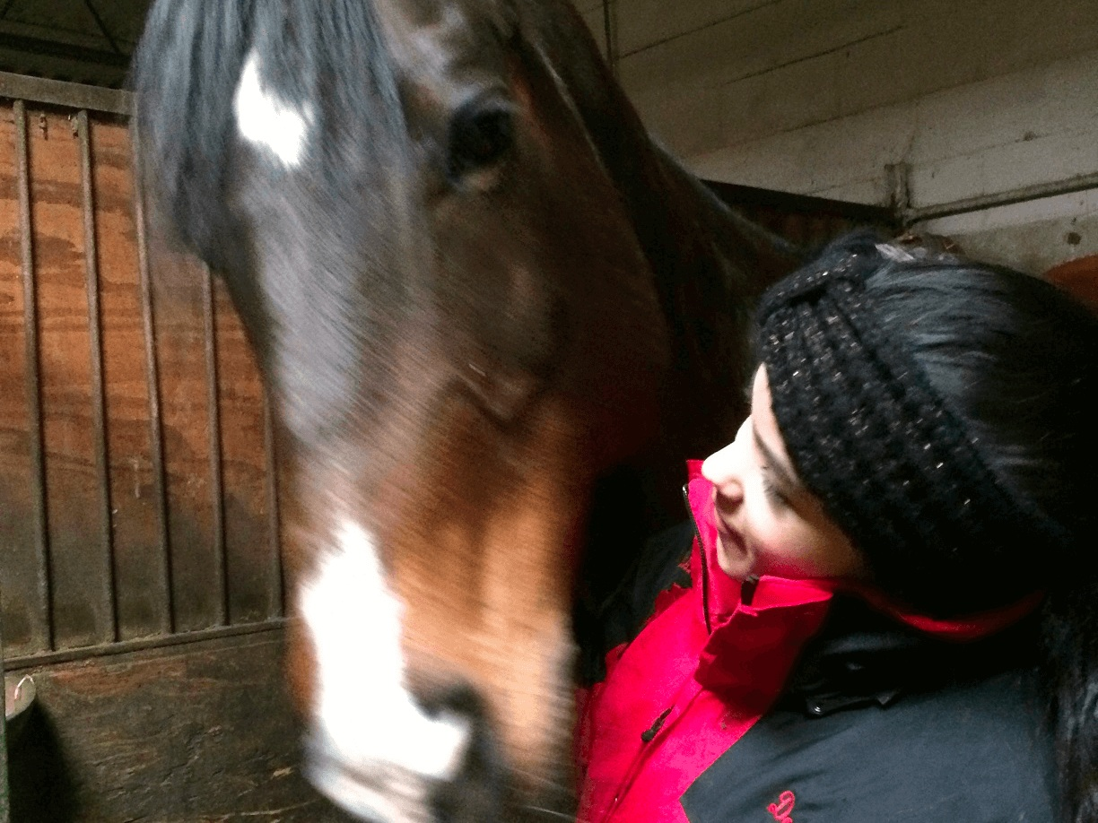 Help Dominique get back on her horse. - At 19, Dominique Rivas was diagnosed with an autoimmune disease called Neurosarcoidosis. MET is determined to help her make a full recovery and get back to the sport she loves.
