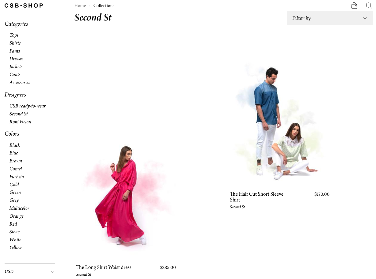 Second Street     (online fashion store)