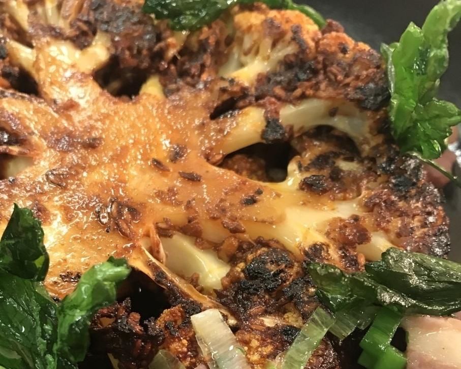 Carosesa Marinated Cauliflower Steak
