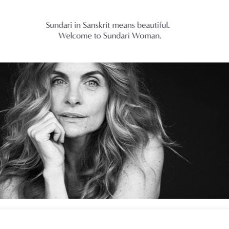 Creating the #sundariwoman site. Stay tuned🙏✨