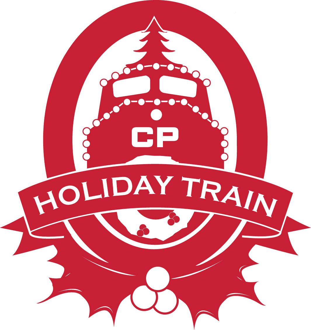 Logo for the CP Holiday Train.