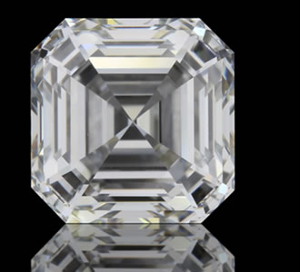 ASSCHER - The Asscher Cut Diamond, also known as a Square Emerald Cut, is a cut-cornered step-cut square.