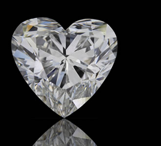 HEART - Heart-shaped diamonds are exactly what the name describes: a heart-shaped modified brilliant cut.