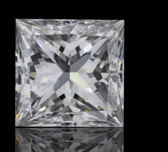 PRINCESS - The Princess Cut is a square modified brilliant with pointed corners.