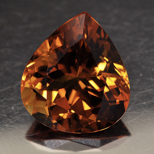 CITRINE - Citrine is a member of the Quartz family, and generally has a yellowish or orange color.Mohs Scale Rating: 7