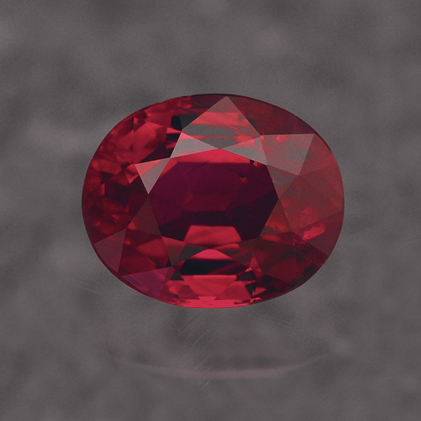 RUBY - Ruby is also part of the Corundum family. It can be found in a range of red hues, from purplish to orangish. Only red Corundum are considered to be Rubies. All other colors of Corundum are called Sapphire. Ruby has a hardness of 9 on the Mohs scale.