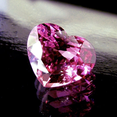 PINK SAPPHIRE - Pink Sapphires are another variety of the Corundum family, also a 9 on the Mohs scale.