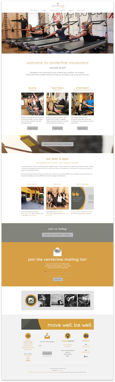 Centerline Home Page