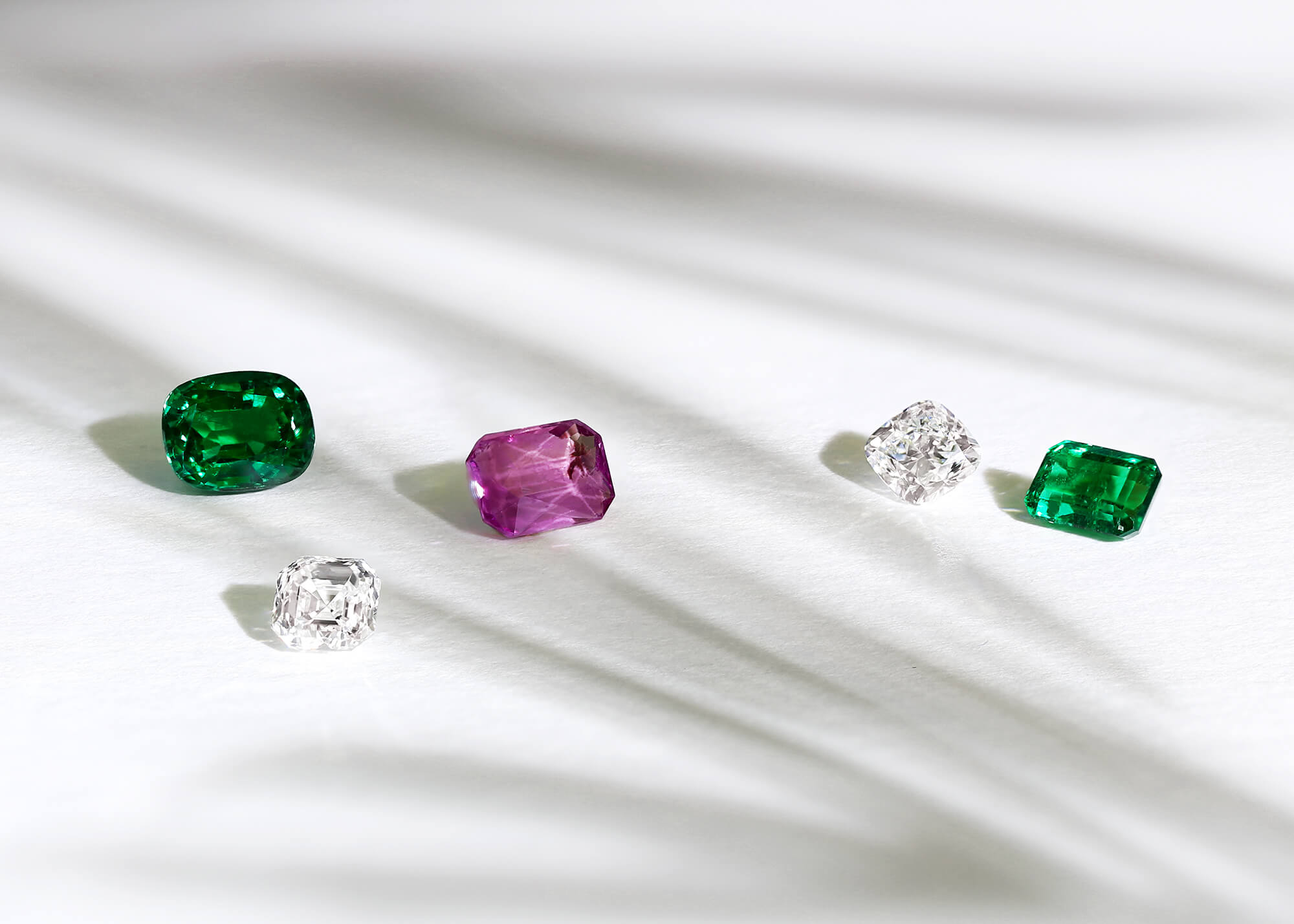 Diamonds & Gemstones - Our qualified gemmologists will help you find the perfect centre stone for your engagement ring, using their expertise to prepare a selection of the finest ethically sourced diamonds and gemstones for your design.Diamonds >Gemstones >