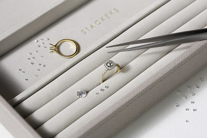 Truly Bespoke - We design and craft each ring commission in-house, from start to finish. Be part of the process and create something truly unique.Bespoke engagement rings