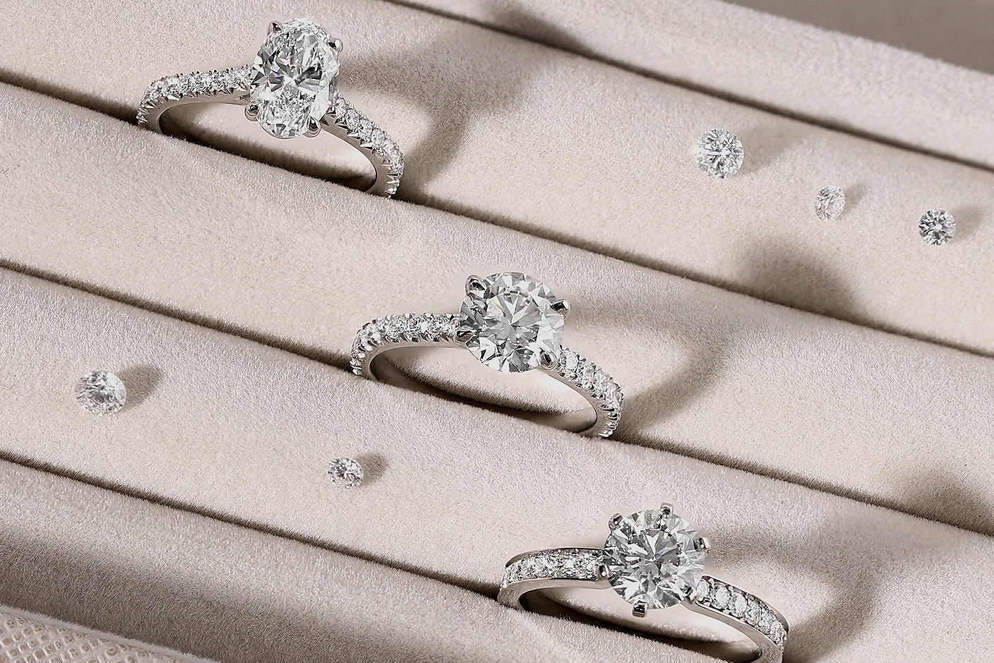 About our diamonds - We are proud suppliers of GIA certified diamonds. Graded by the world's most renowned, independent and not-for-profit grading laboratory, our diamonds are hand selected by our qualified gemmologists to suit each individual budget and personal requirements.Hatton Garden Diamonds