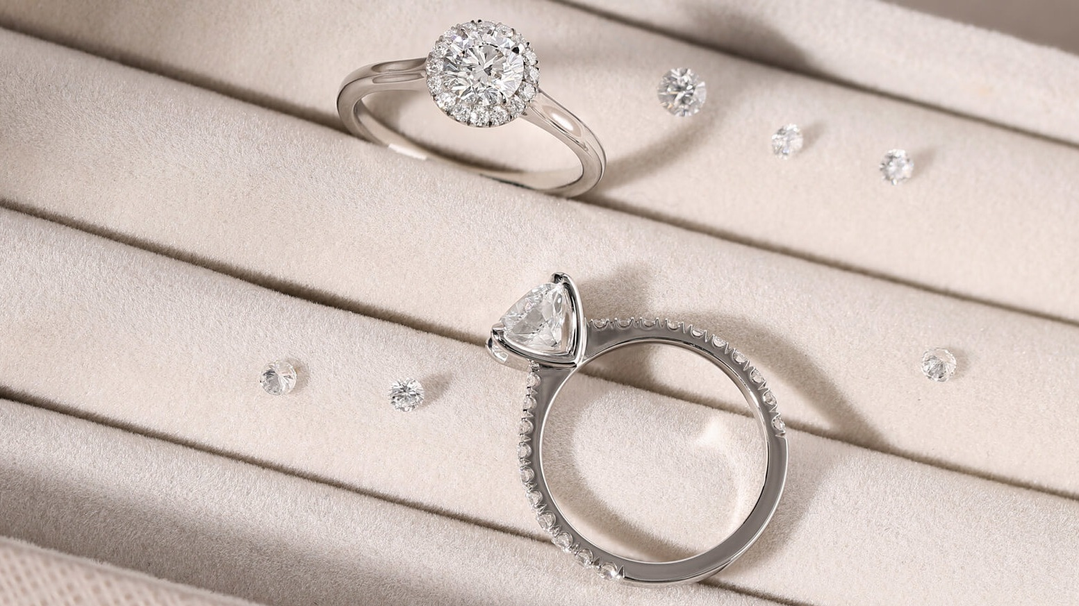 Designed & crafted especially for you. - We design and craft each ring in-house, from start to finish, so we can tailor our designs to you and your preferences. Be part of the process and create something truly unique.Contact or visit us
