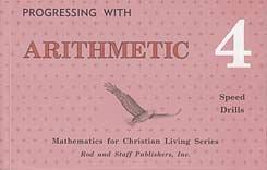 Rod and Staff Math Facts books: Rod & Staff Grade 4 Math: Speed Drills