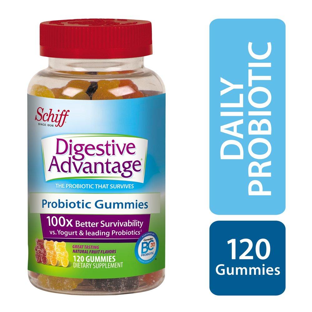 Kids Probiotics: Digestive Advantage Daily Probiotic Gummies, 120 Count
