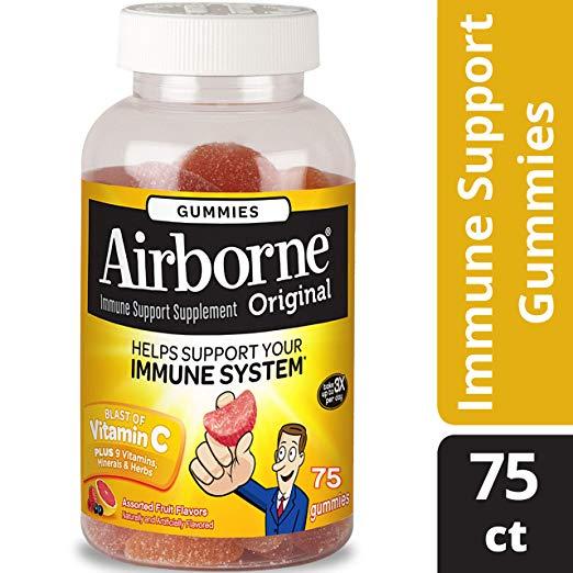 Airborne: 75 Piece Immune Support Gummies, 15.71 Ounce