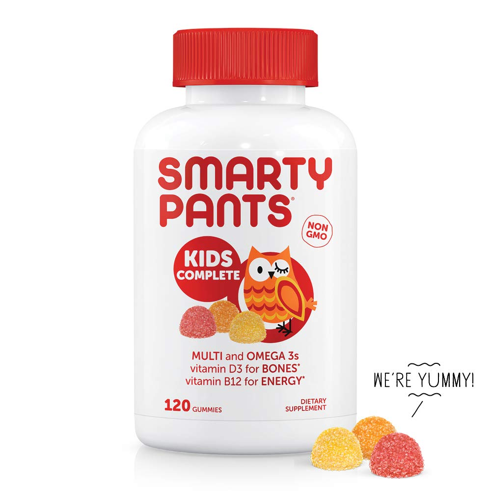 Multivitamin Gummies for the Kids: SmartyPants Kids Complete Daily Gummy Vitamins: Gluten Free