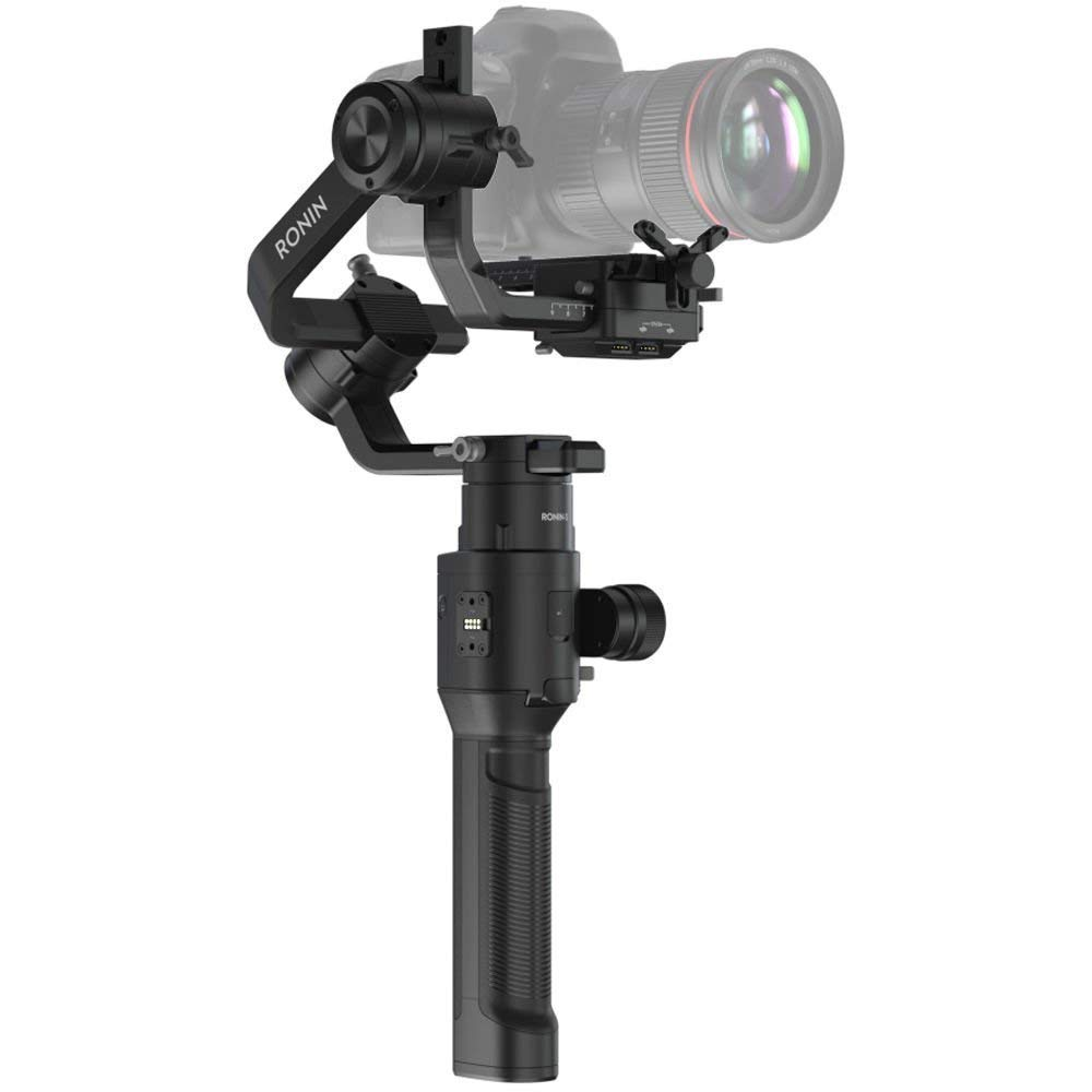 DJI Ronin-S Camera Stabilizer: DJI Ronin-S Handheld 3-Axis Gimbal Stabilizer with All-in-one Control for DSLR and Mirrorless Cameras