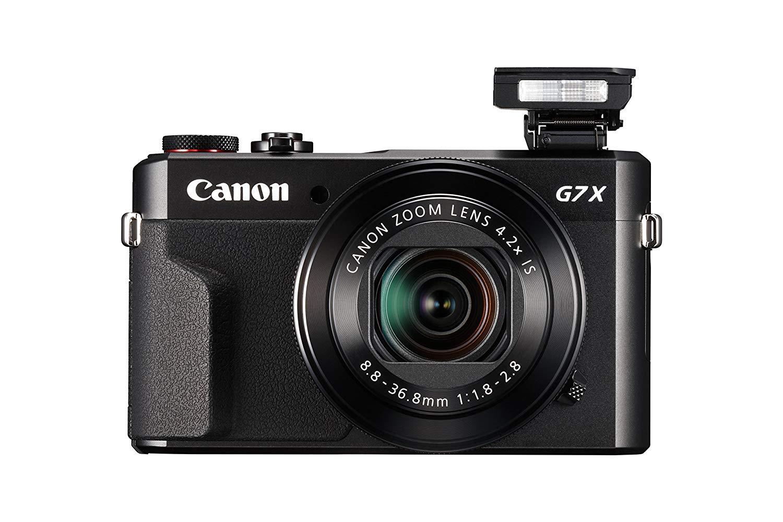 Main Vlogging Camera: Canon PowerShot G7 X Mark II (Black)