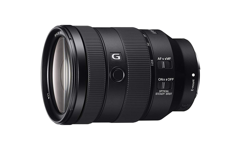Camera Lens: Sony - FE 24-105mm F4 G OSS Standard Zoom Lens (SEL24105G)