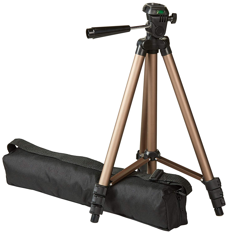 Large Lightweight Tripod: AmazonBasics 50-Inch Lightweight Tripod with Bag