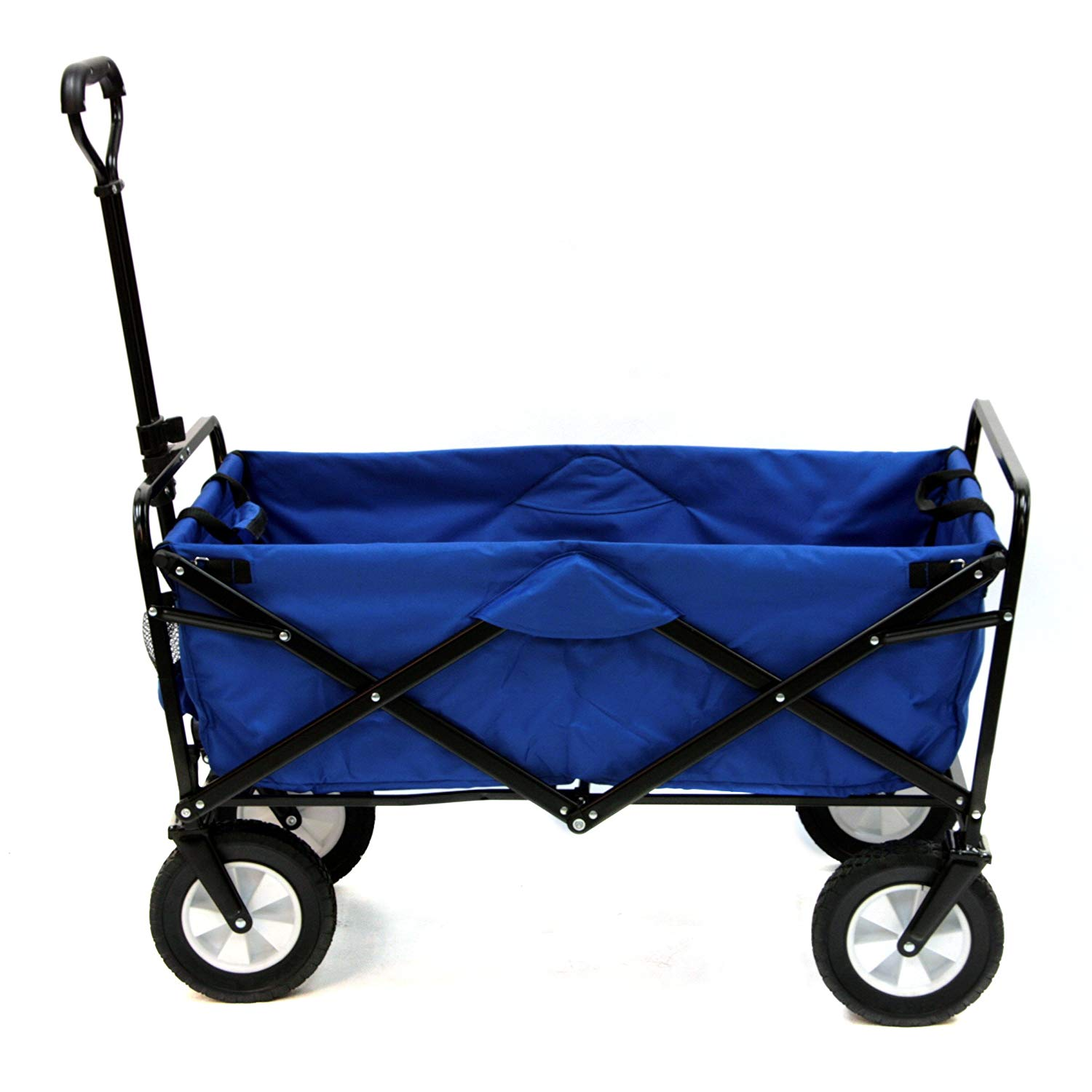 Great wagon for the kids! Mac Sports Collapsible Folding Outdoor Utility Wagon, Blue