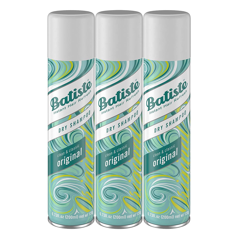 Dry Shampoo: Batiste Dry Shampoo, original fragrance