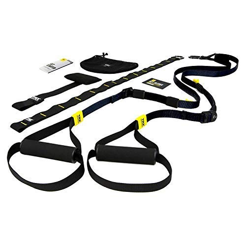 TRX Travel Bands: TRX GO Suspension Trainer System: Lightweight & Portable| Full Body Workouts, Includes Get Started Poster, 2 Workout Guides & Indoor/Outdoor Anchors